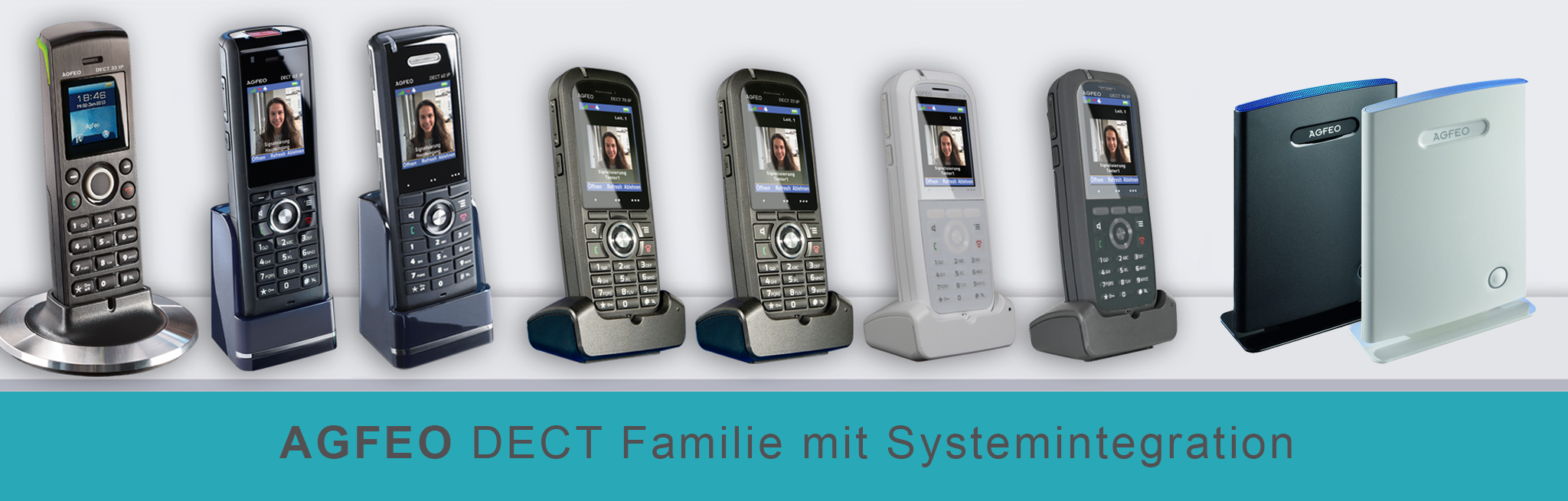 AGFEO DECT Systemtelefone